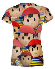 Ness Super Smash Bros Women's T-shirt