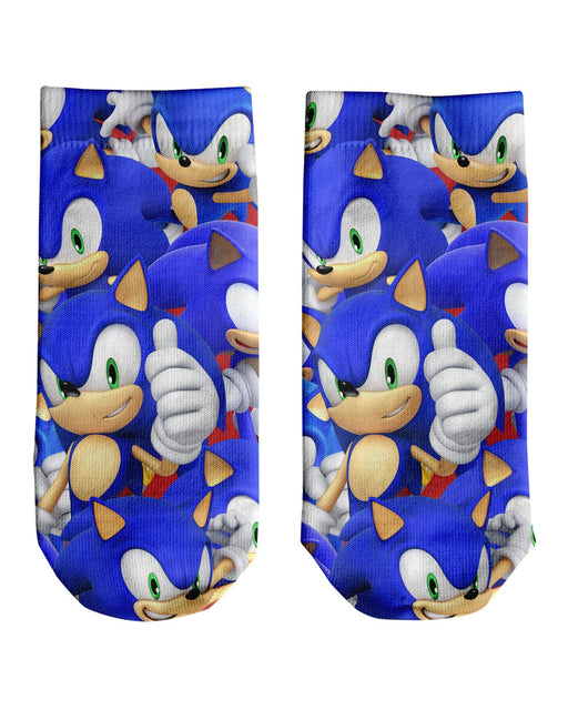 Sonic Super Smash Bros Ankle Socks