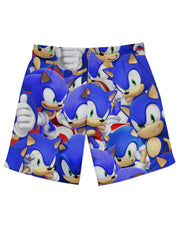 Sonic Super Smash Bros Athletic Shorts