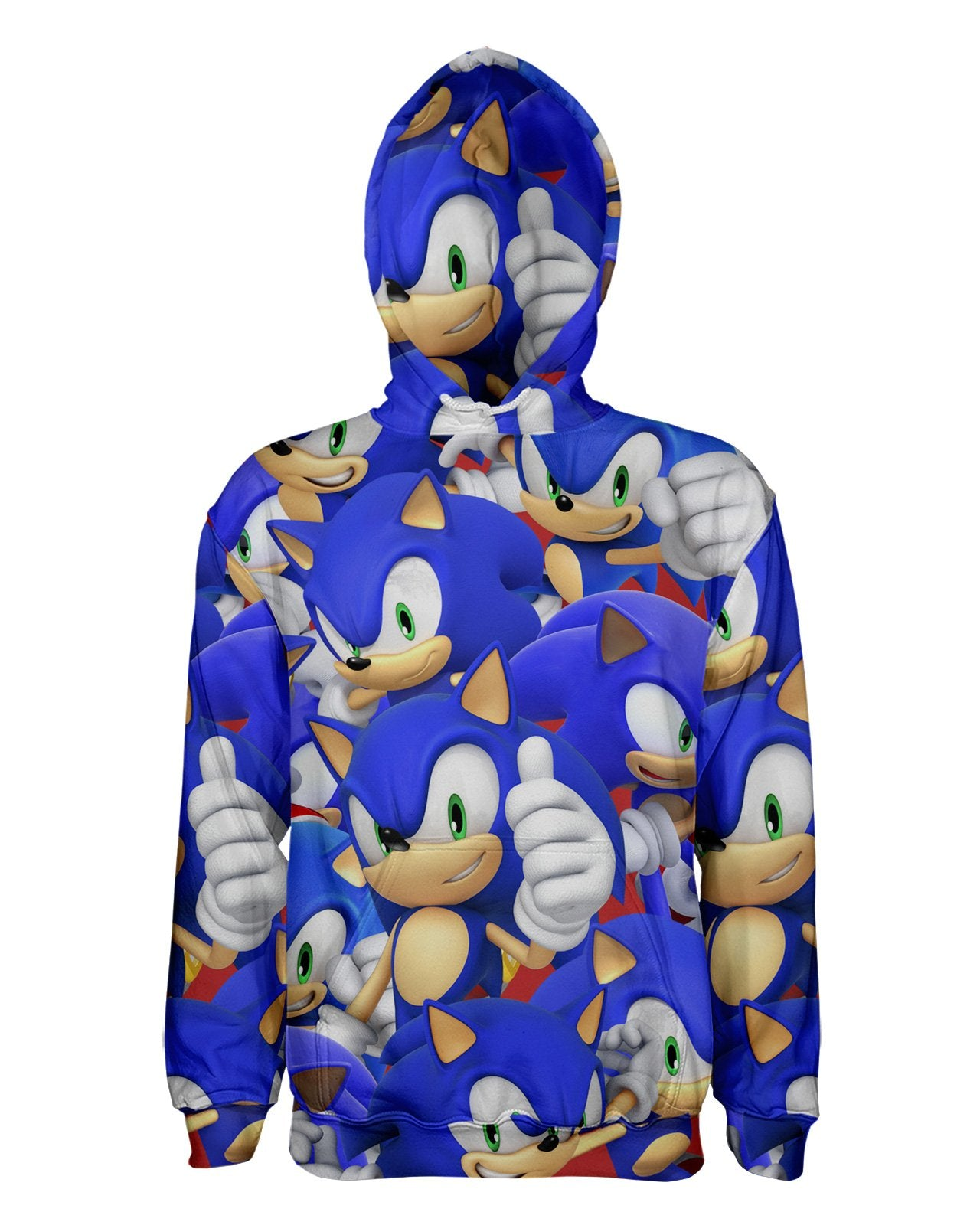 Sonic Super Smash Bros Pullover Hoodie