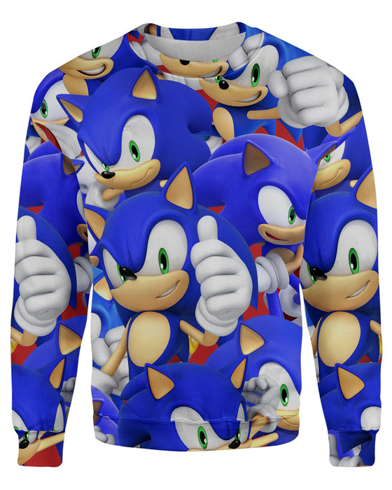 Sonic Super Smash Bros Sweatshirt