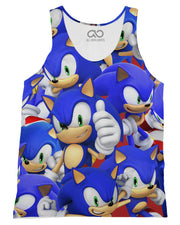 Sonic Super Smash Bros Tank-Top