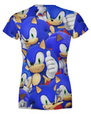 Sonic Super Smash Bros Women's T-shirt