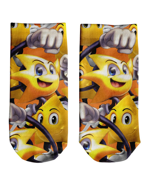 Ristar Super Smash Bros Ankle Socks