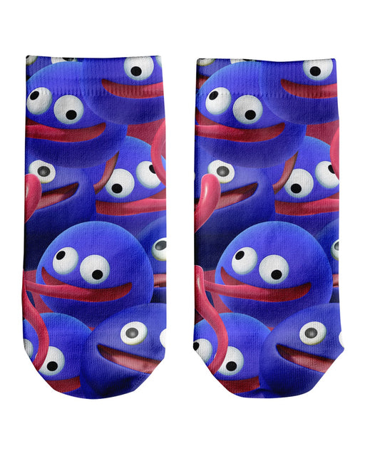 Gooey Super Smash Bros Ankle Socks