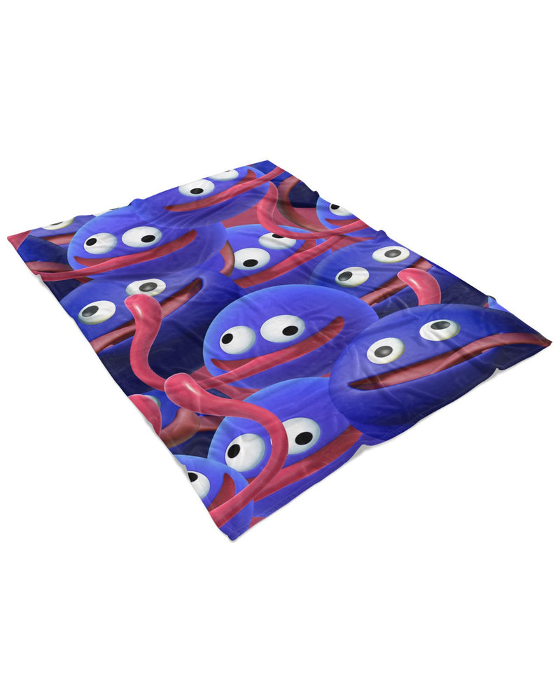 Gooey Super Smash Bros Fluffy Micro Fleece Throw Blanket
