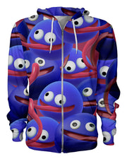 Gooey Super Smash Bros Zip Hoodie