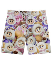 Ice Climbers Super Smash Bros Athletic Shorts