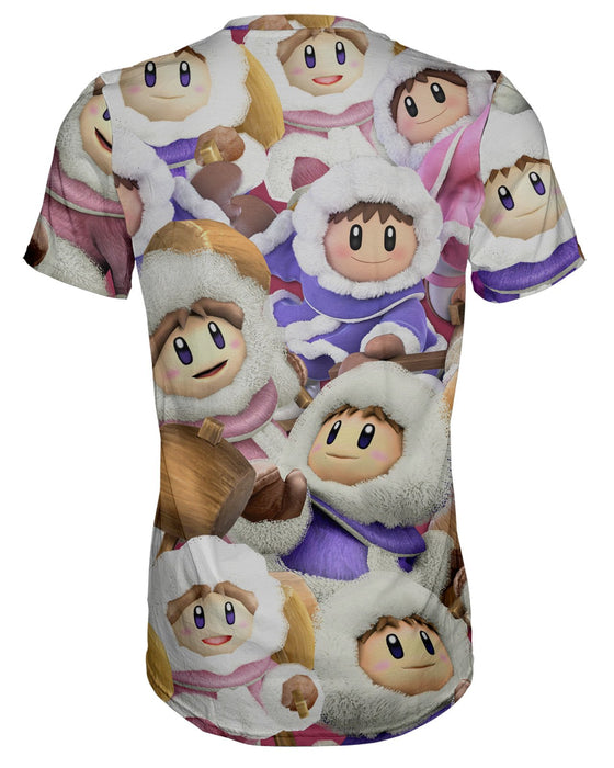 Ice Climbers Super Smash Bros T-shirt