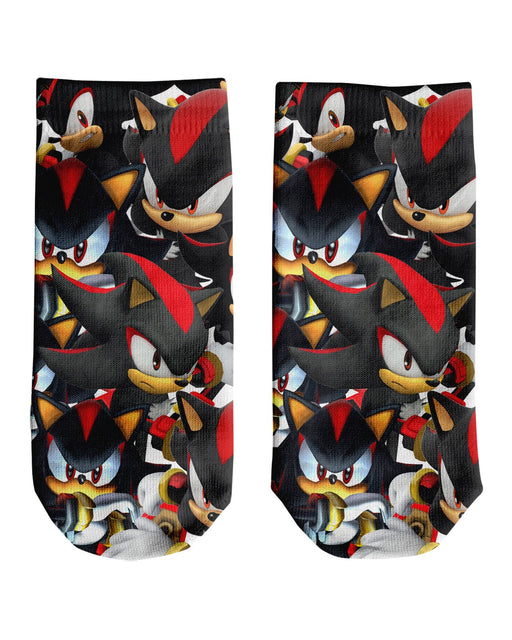 Shadow Super Smash Bros Ankle Socks