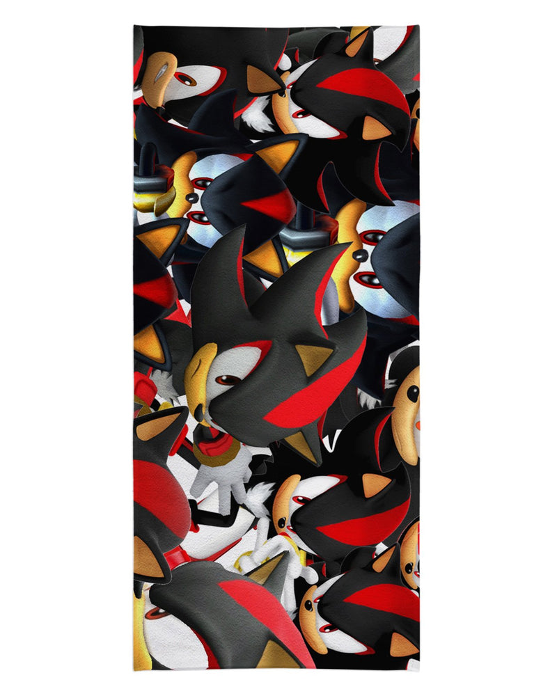 Shadow Super Smash Bros Beach Towel