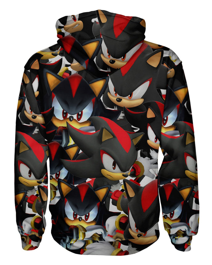 Shadow Super Smash Bros Pullover Hoodie
