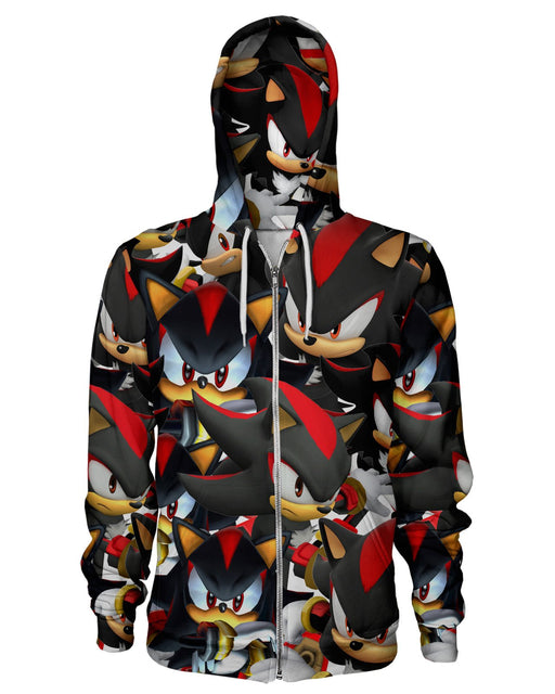 Shadow Super Smash Bros Zip Hoodie