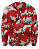 Knuckles Super Smash Bros Sweatshirt