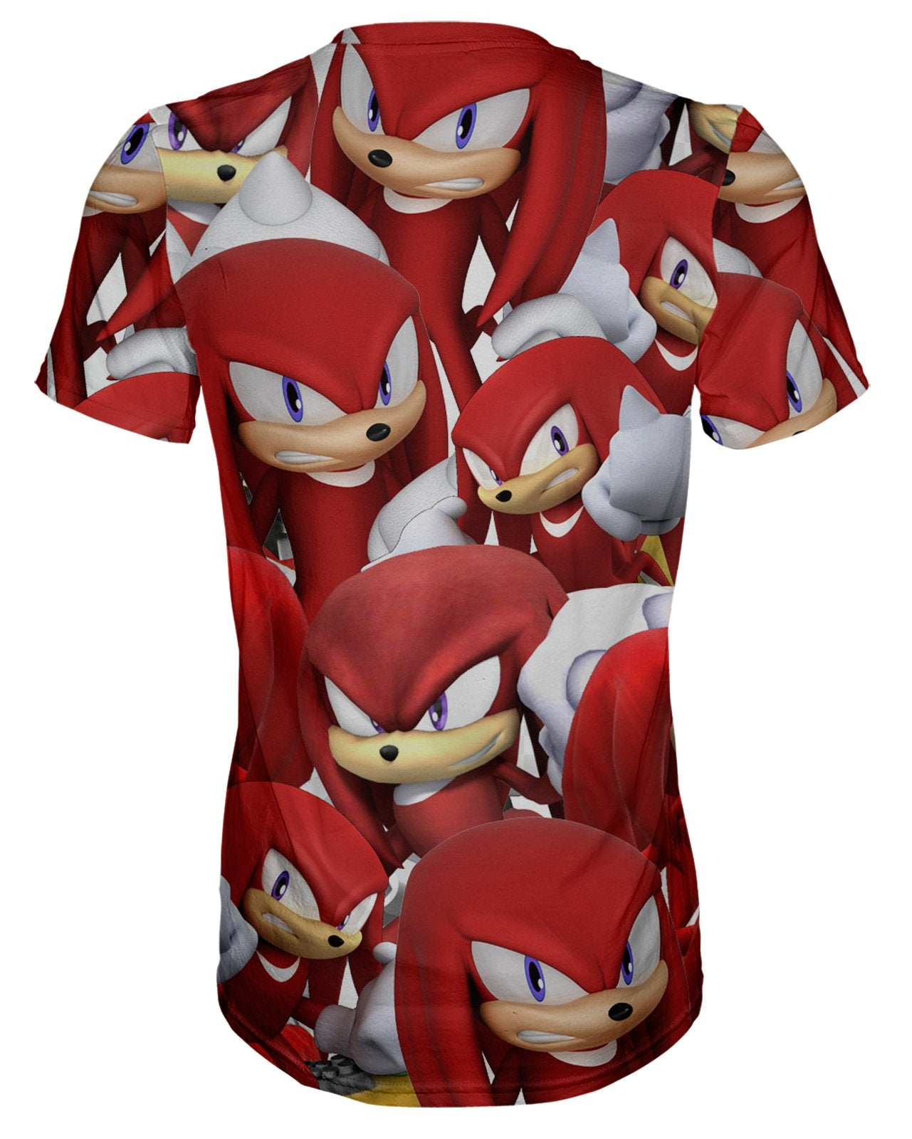 Knuckles Super Smash Bros T-shirt
