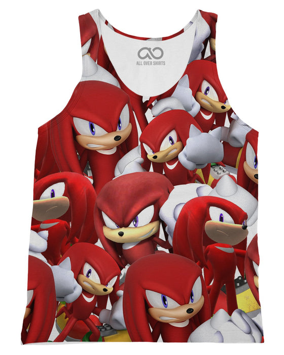 Knuckles Super Smash Bros printed all over in HD on premium fabric. Handmade in California.