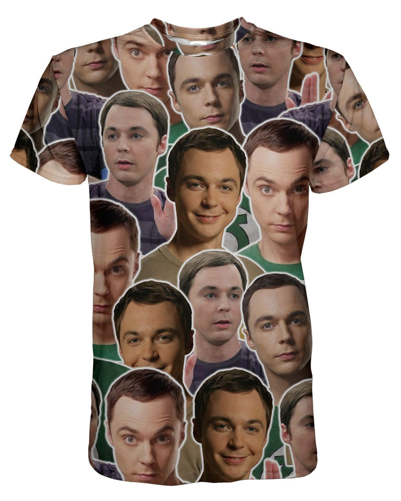 Sheldon printed all over in HD on premium fabric. Handmade in California.