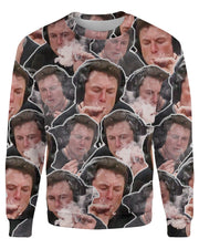 Elon Musk Smoking Sweatshirt