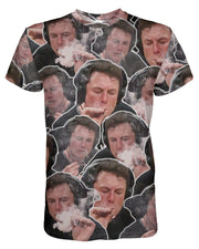 Elon Musk Smoking T-shirt