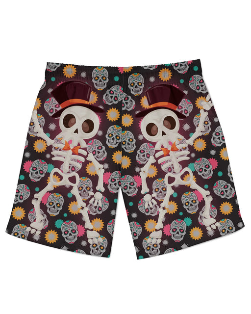 Disco Skeleton Athletic Shorts