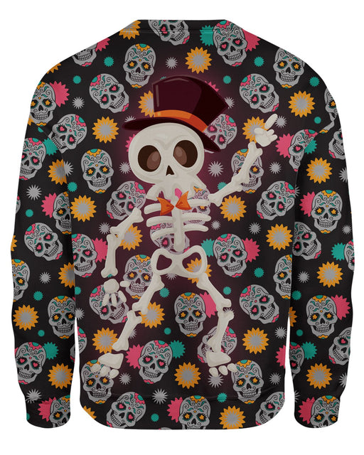 Disco Skeleton Sweatshirt