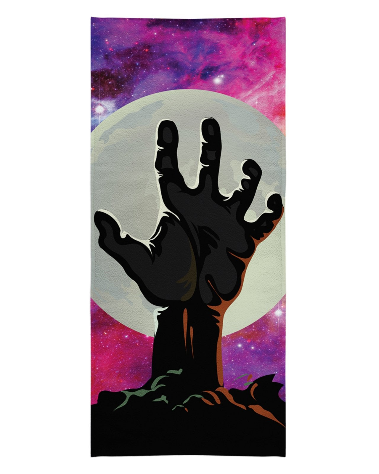 Zombie Nebula Beach Towel