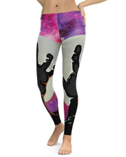 Zombie Nebula Leggings