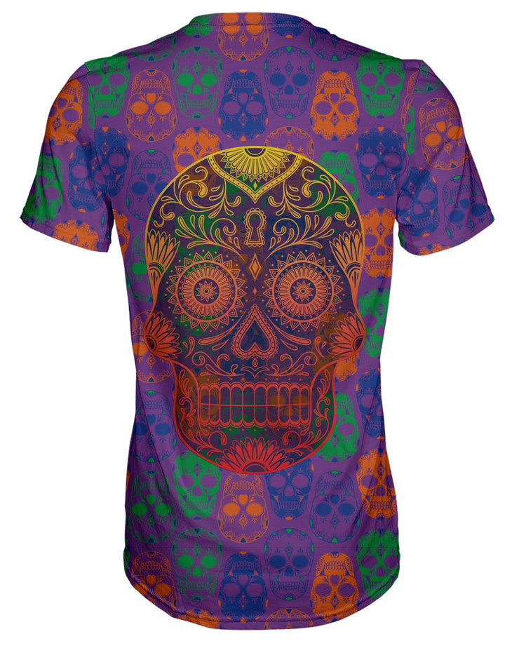 Bright Sugar Skull T-shirt