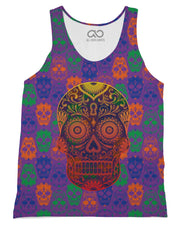 Bright Sugar Skull Tank-Top