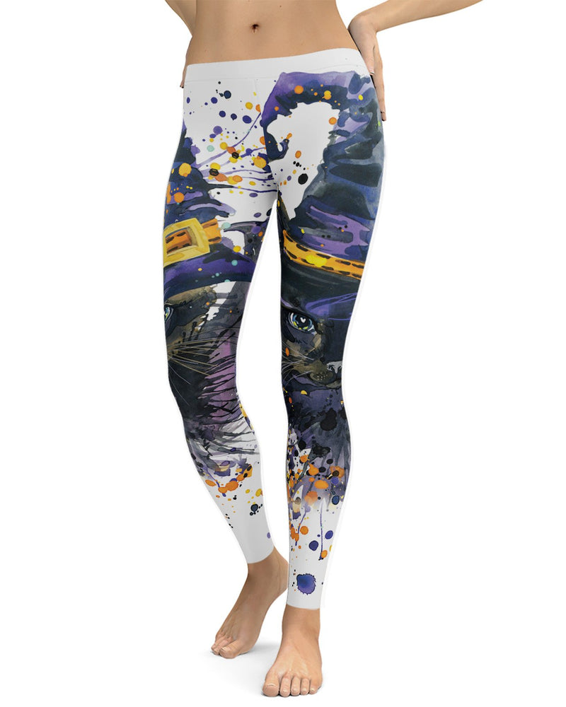 Halloween Cat Leggings
