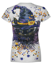 Halloween Cat Women's T-shirt
