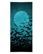 Green Bats Beach Towel