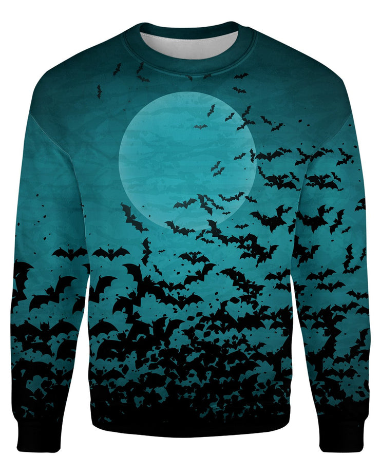 Green Bats Sweatshirt