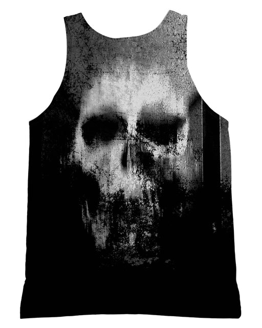 Smeared Skull Tank-Top