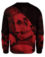 Red Skull Sweatshirt