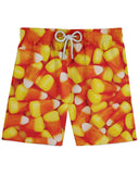 Candy Corn Athletic Shorts