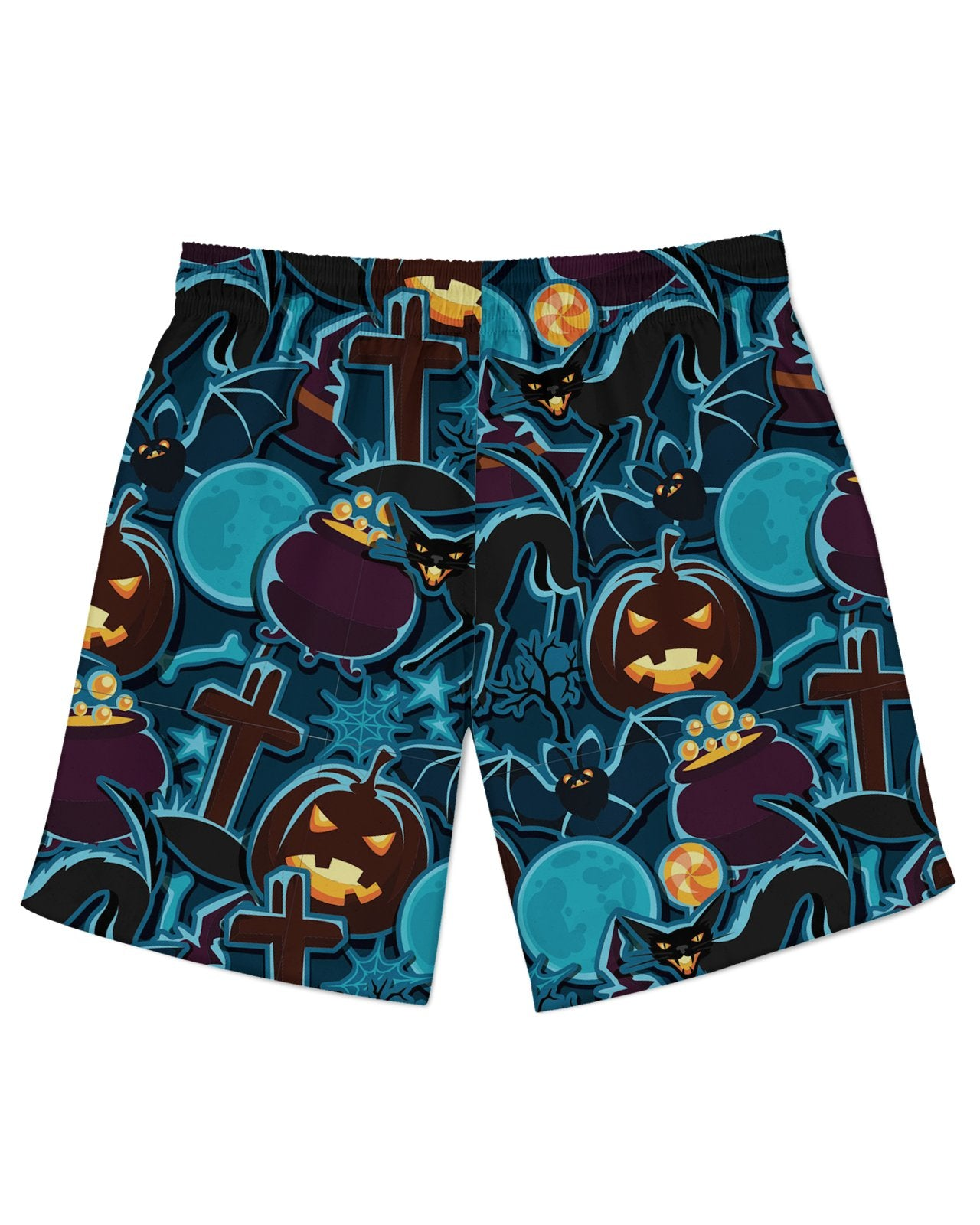 Halloween Pattern Athletic Shorts