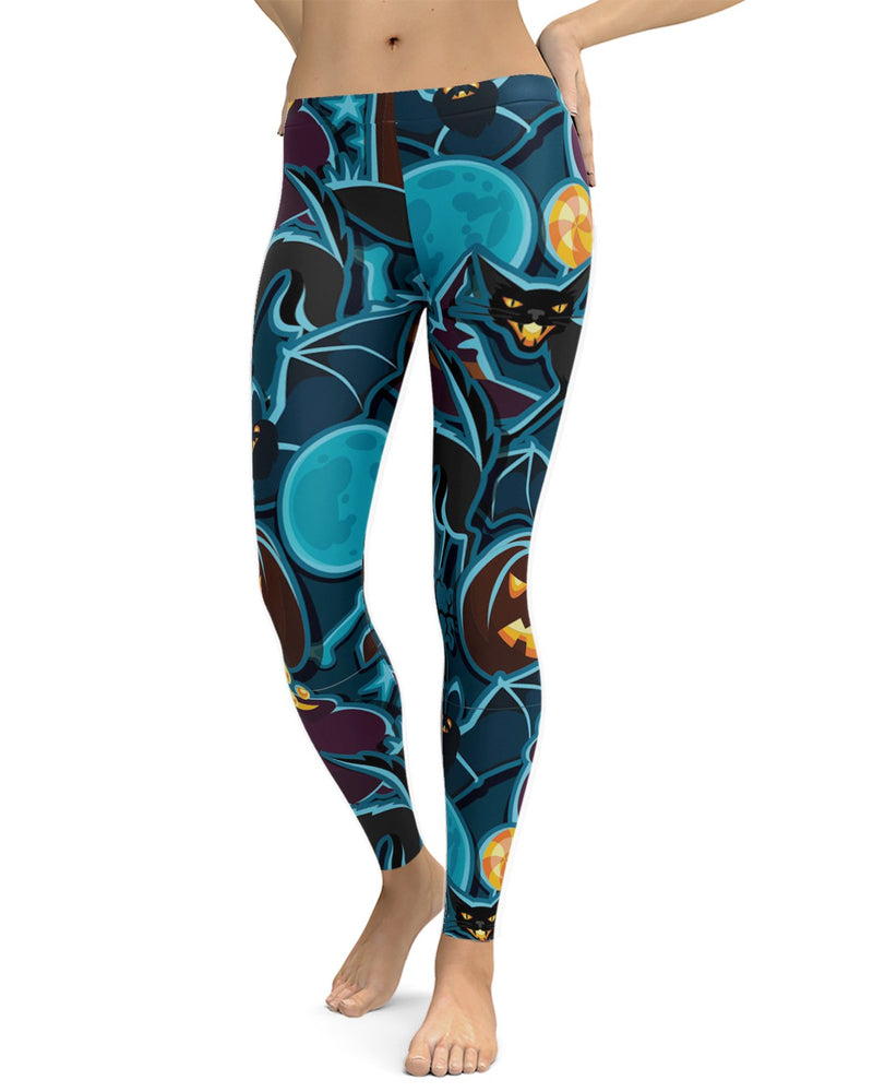 Halloween Pattern Leggings
