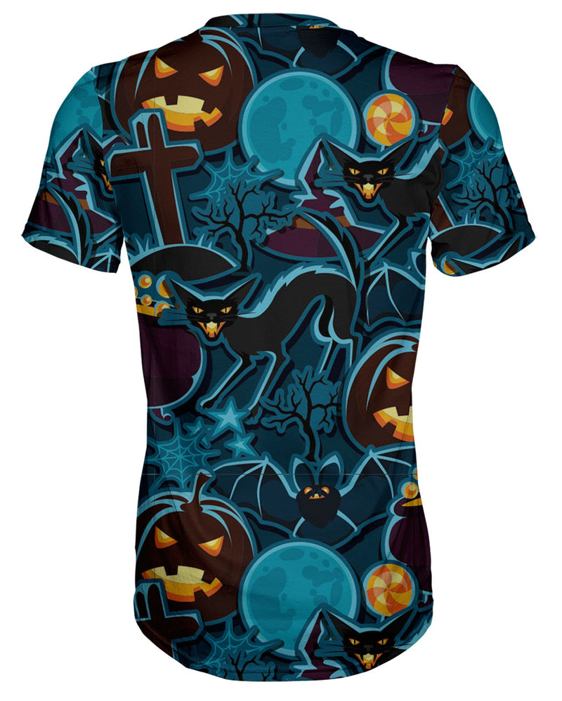 Halloween Pattern T-shirt