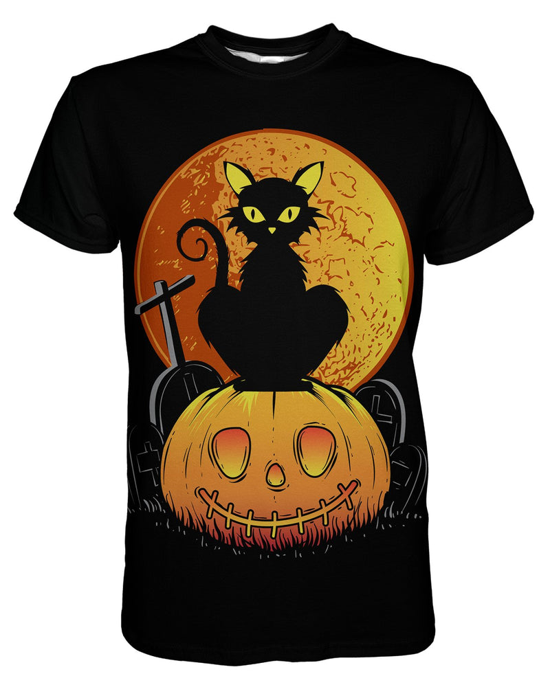 Chat Noir printed all over in HD on premium fabric. Handmade in California.