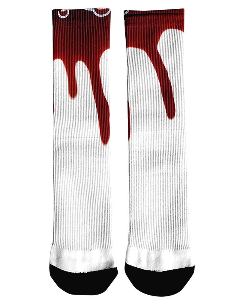 Blood Drip printed all over in HD on premium fabric. Handmade in California.