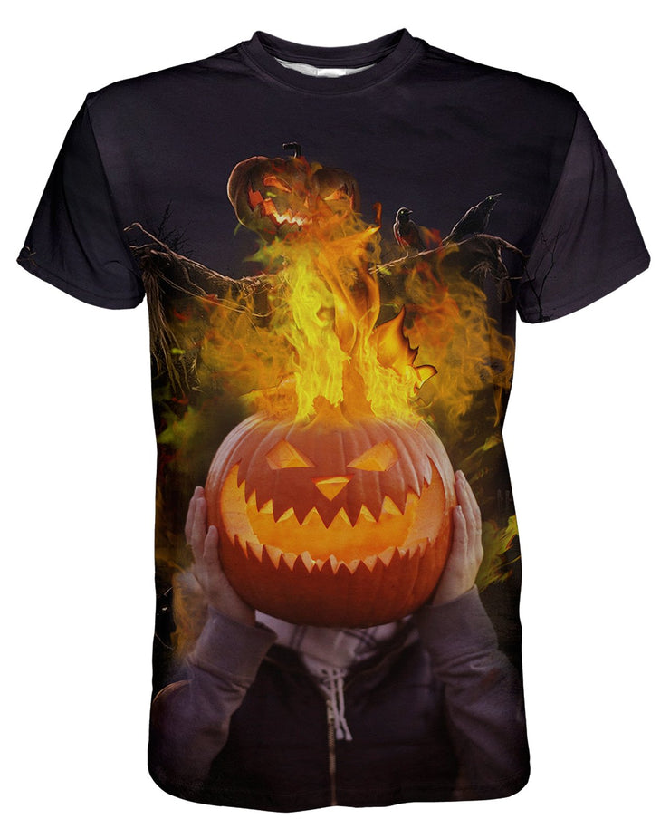 Jack On Fire printed all over in HD on premium fabric. Handmade in California.