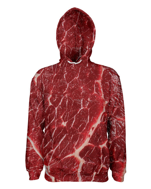 Meat printed all over in HD on premium fabric. Handmade in California.