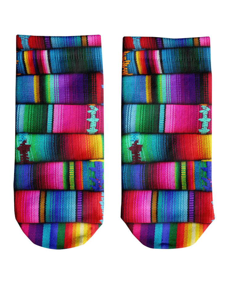 Mexican Blankets Ankle Socks