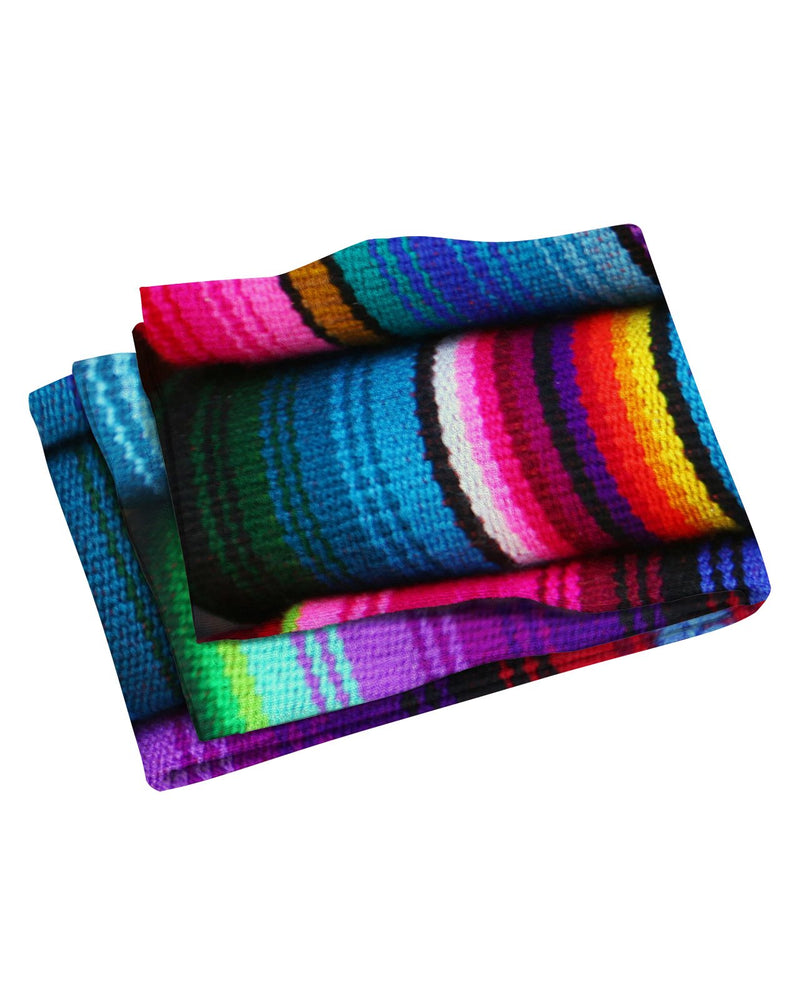 Mexican Blankets Beach Towel