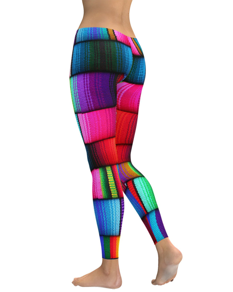 Mexican Blankets Leggings