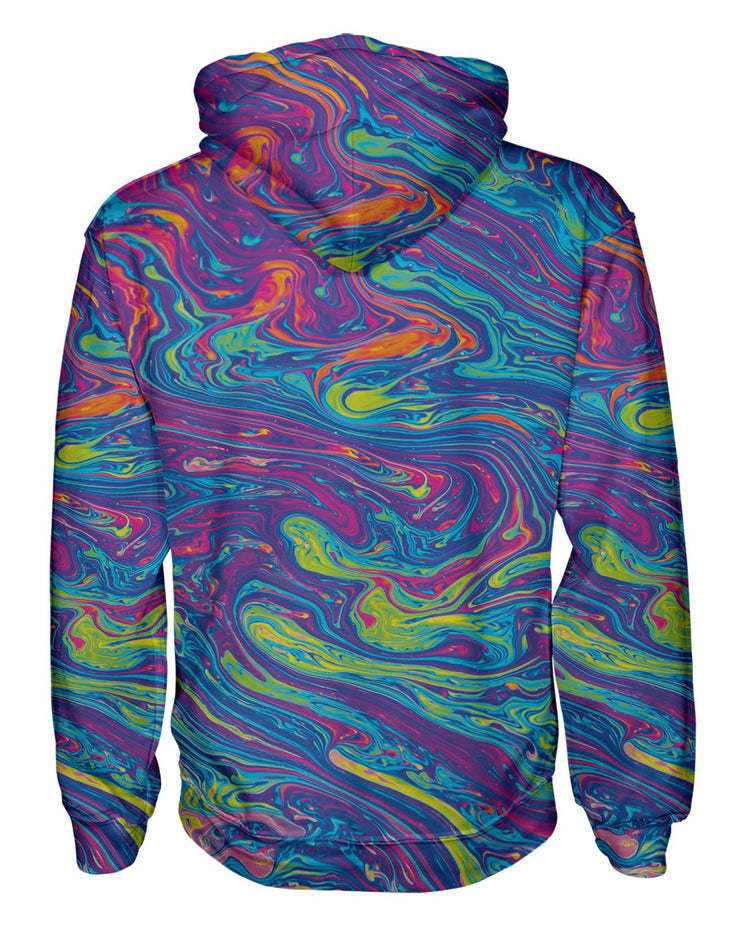 Oil Spill 2 Pullover Hoodie
