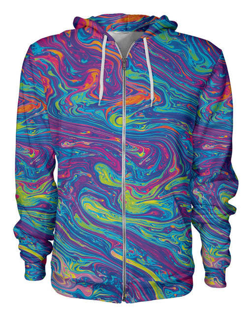 Oil Spill 2 printed all over in HD on premium fabric. Handmade in California.