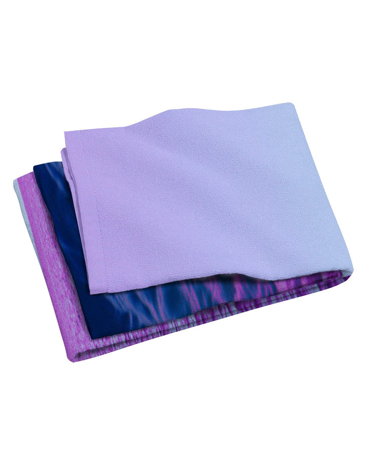 Purple Oceans Beach Towel