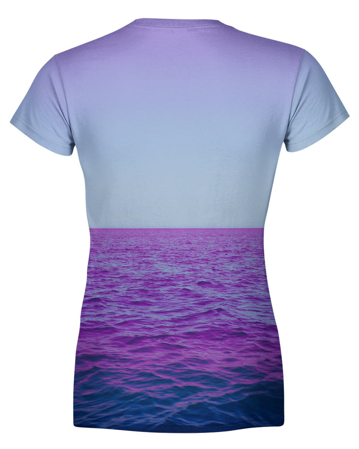 Purple Oceans Women's T-shirt